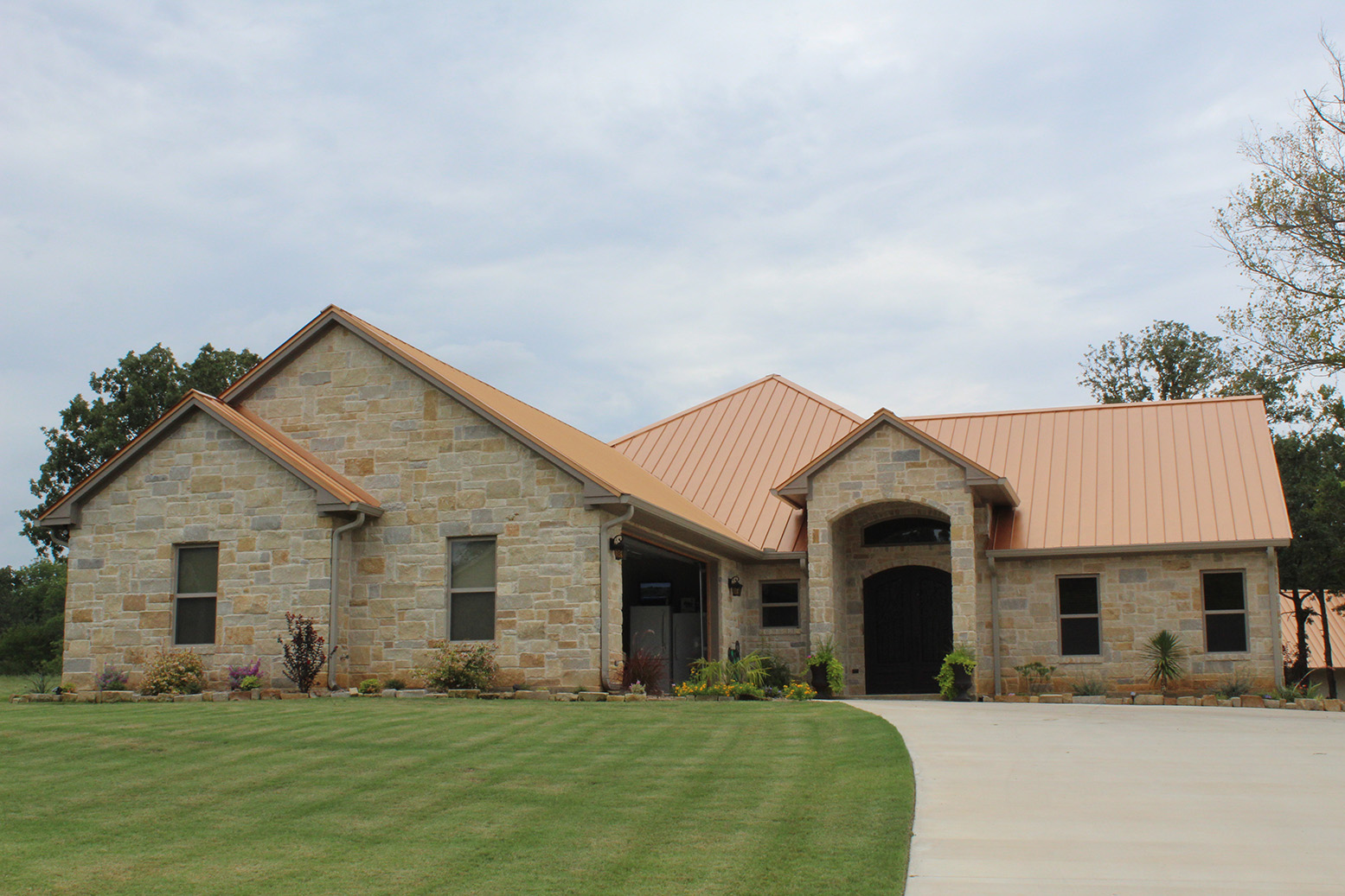 Custom Built Home By Charter Homes In Kingston, OK